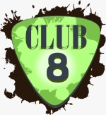 Logo der Band Club 8